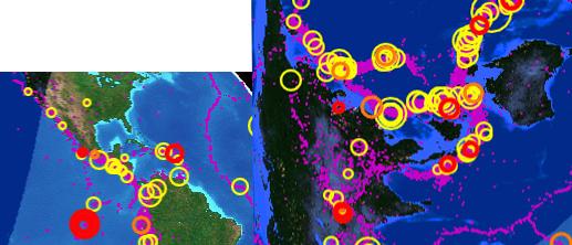 Сведенное фото сейсмомонитора Земли подтверждает столкновение