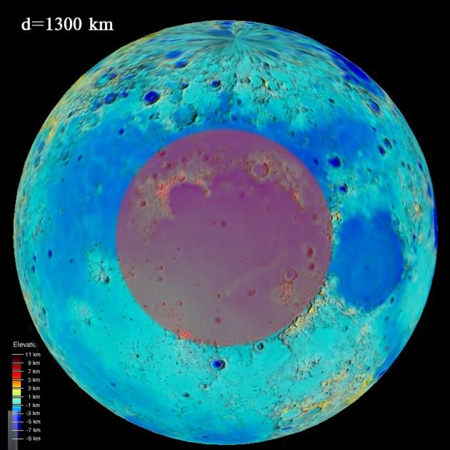 Интересные круглые низины имеющие аналоги на Земле.