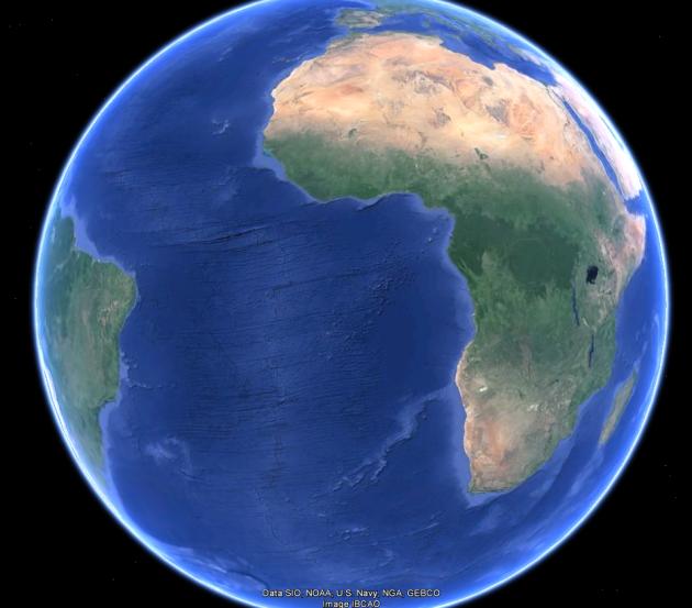 Желтоватый цвет пустыни Сахары приобретен не из-за Солнца а из-за раны, повреждения мантии и близкого расположения внутреннего состава Земли у поверхности, которое приводило к нагреванию и образованию песка.